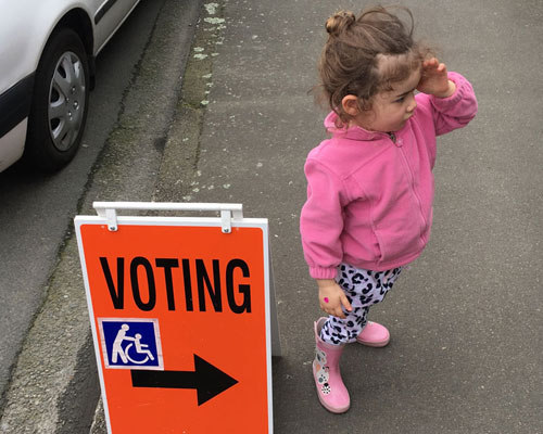 Letter worth sharing: Voting is NOT the most important thing